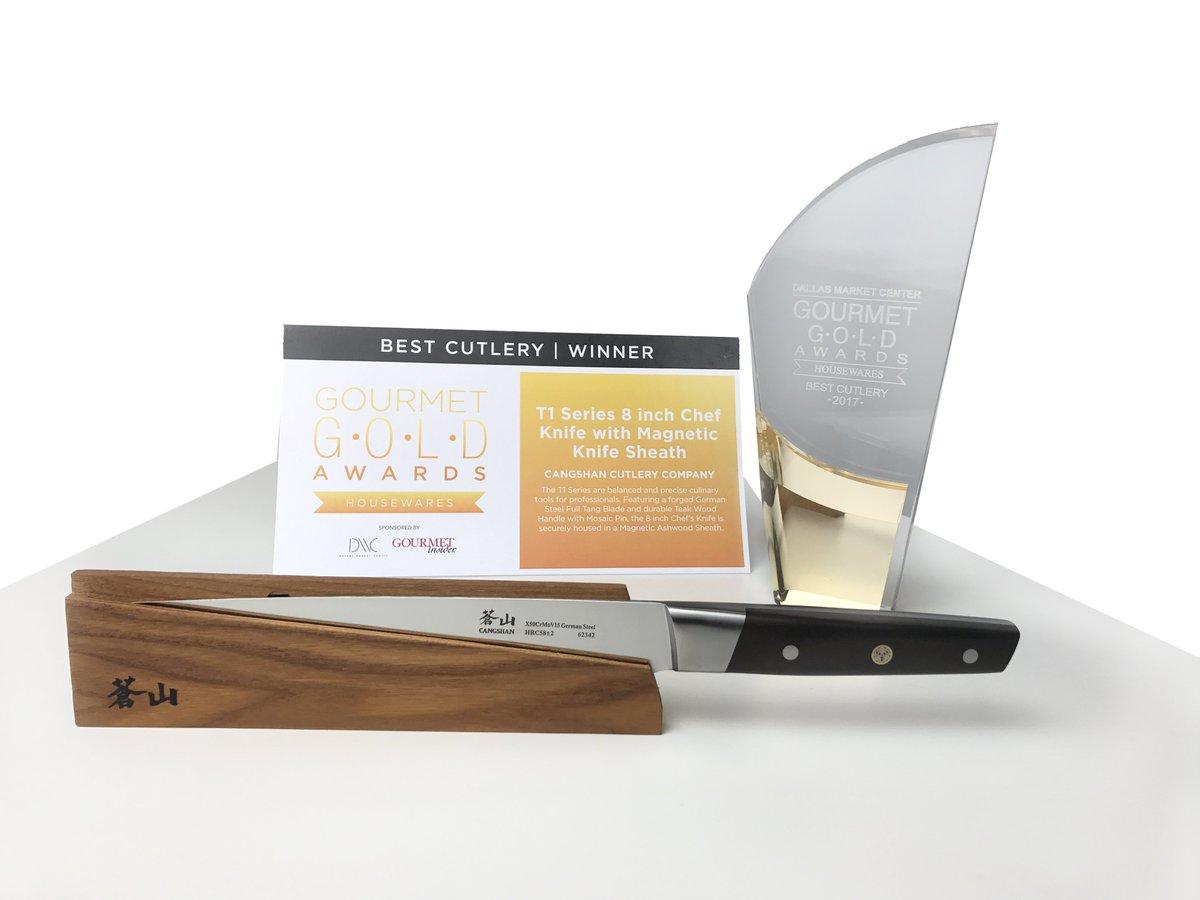 Best Cutlery Winner - 2017 Dallas Gourmet Gold Housewares Award ...