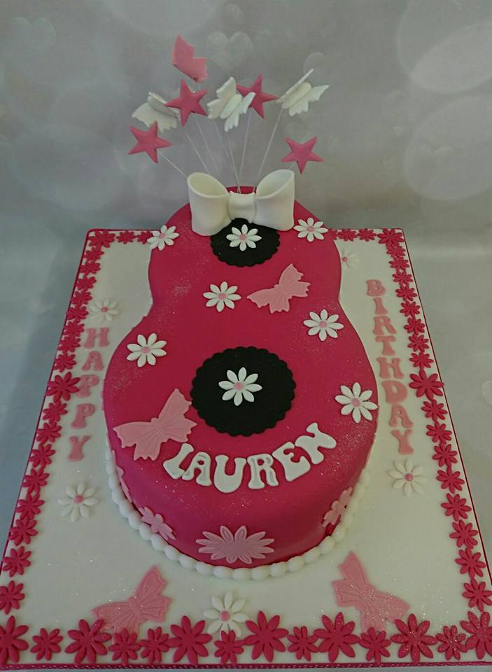 A Cake For You On Twitter Happy 8th Birthday Lauren No8 Flowers