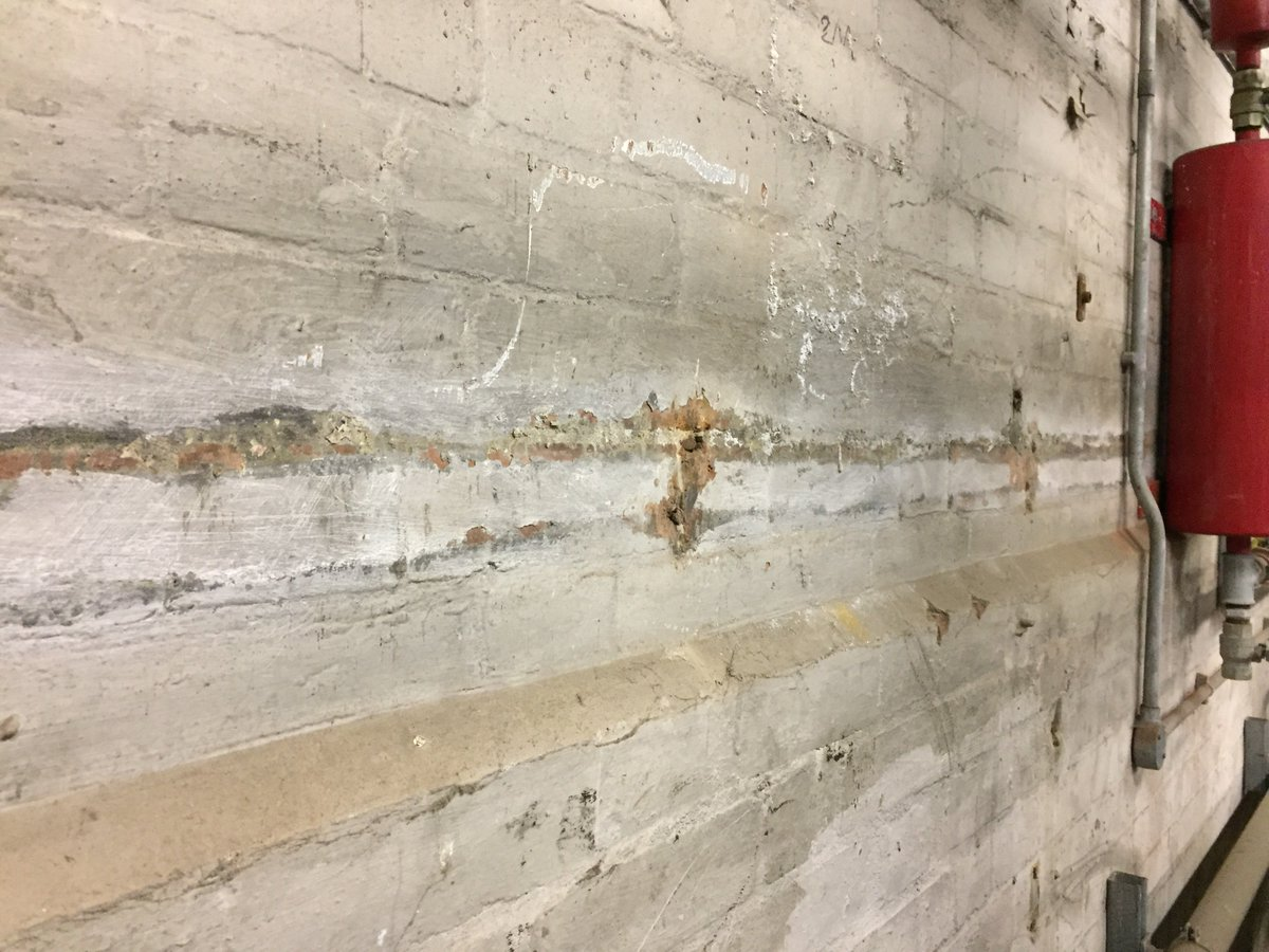 Bardon Environmental On Twitter Asbestos Insulation Snots To A Boiler Room Wall Discovered Recent Survey The Lagged Pipe Removed But