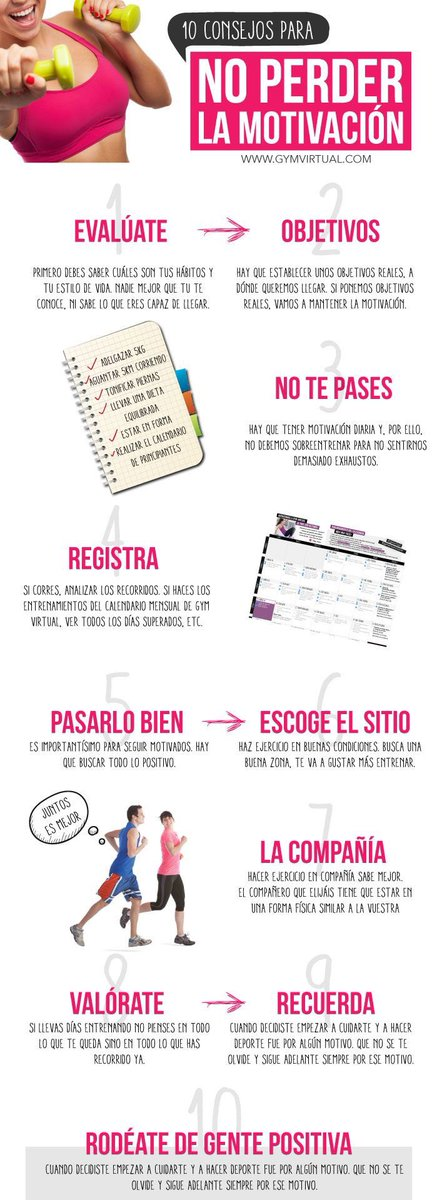 Buenos consejos  #YoElegiCorrer #BuenViernes #LosViernesSonEspecialesPara #QuieroQueSepasQue #FelizFinDeSemana #FelizViernes #AdictasAlPlank<br>http://pic.twitter.com/o4037ZHPqv