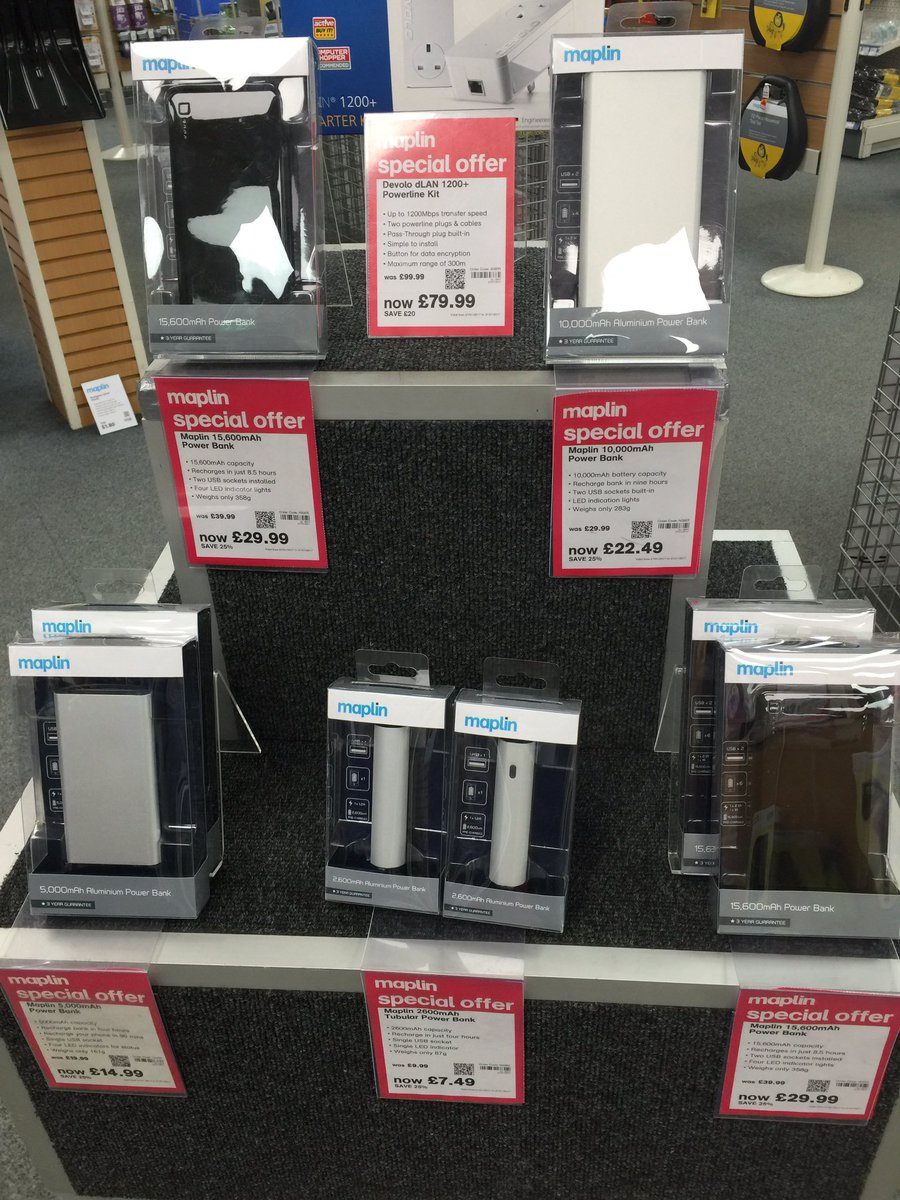 Maplin Edinburgh MaplinEDB Twitter