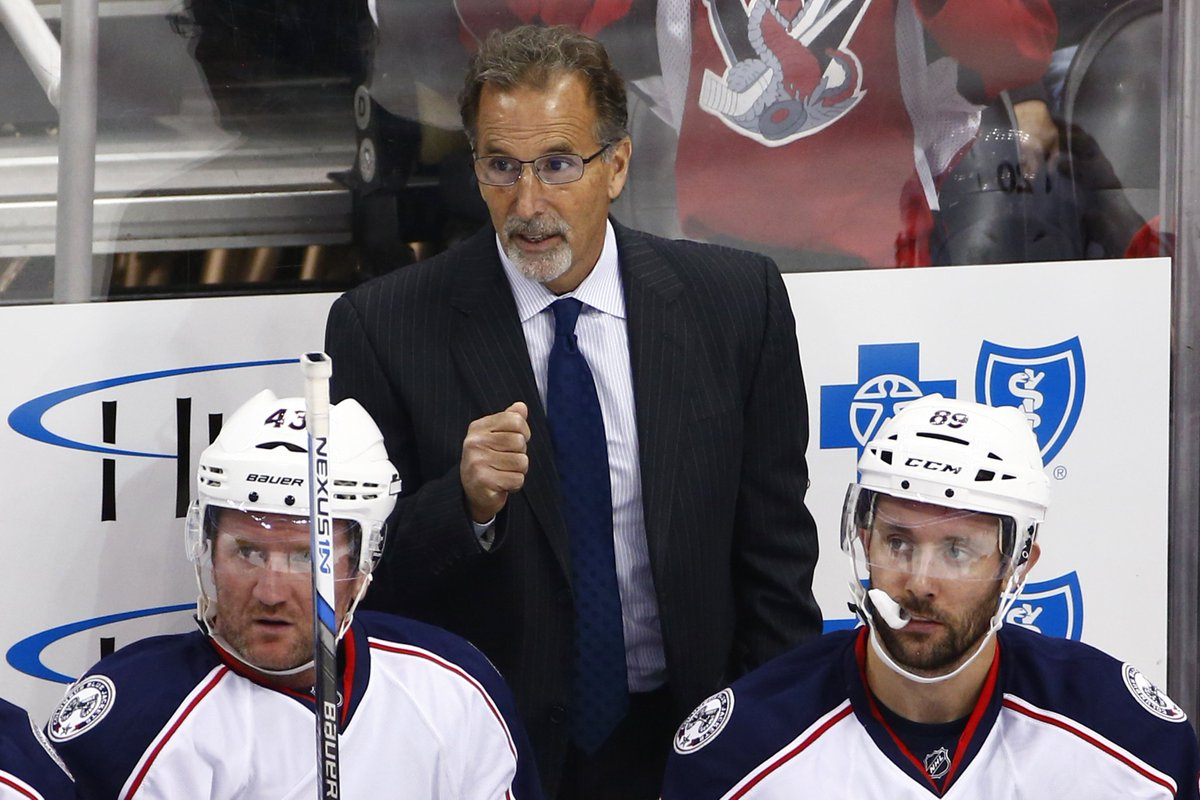 Columbus Dispatch on Twitter: &quotWhy is Blue Jackets coach John