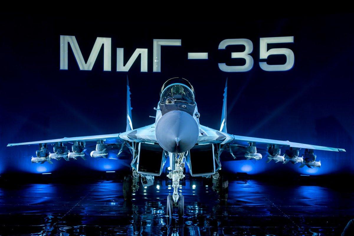 المقاتله الروسيه MiG-35  متعددة المهام  C3MZcWRWQAE6a4s