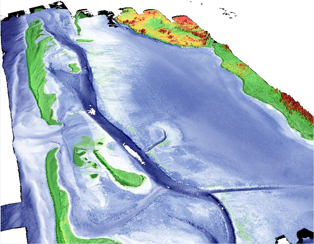 Concentration on Topo-bathymetric lidar & Satellite data - Geomatics.one