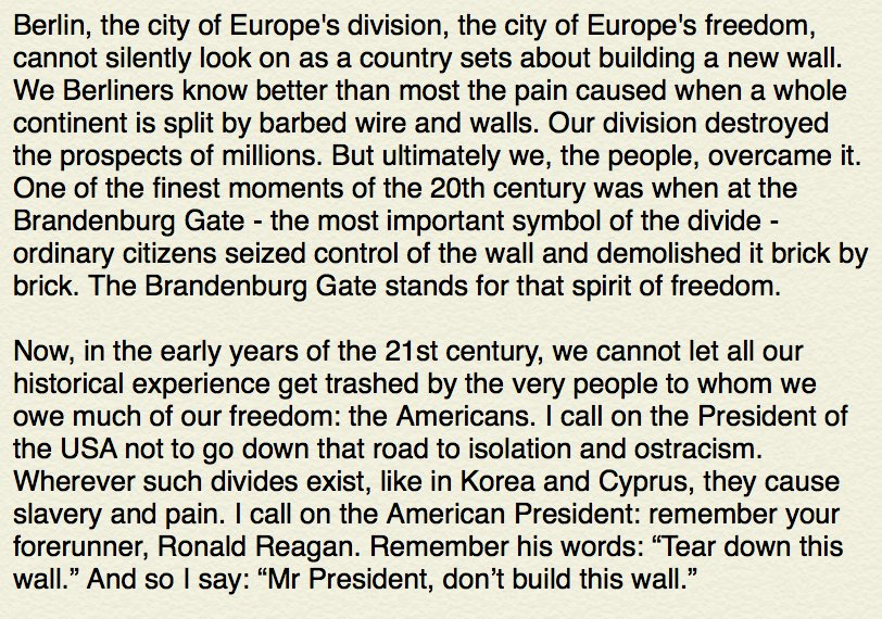 Berlin's mayor just issued this message for Donald Trump. It's quite something. https://t.co/gIIOei6ttT