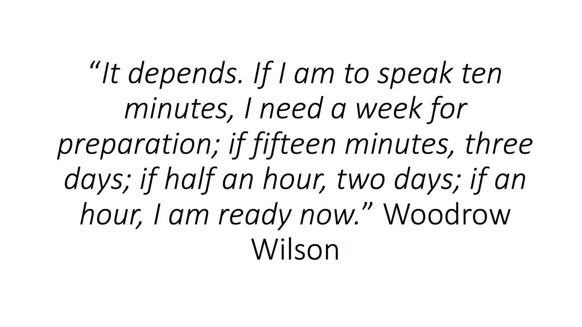 Great quote from Woodrow Wilson on writing; https://t.co/1S3AQSYvml