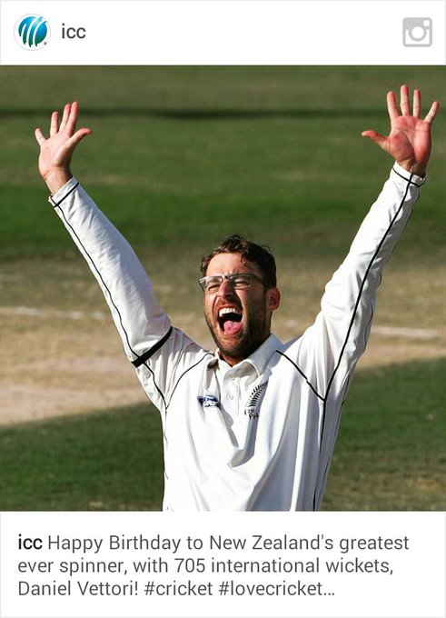 Happy birthday sir daniel vettori