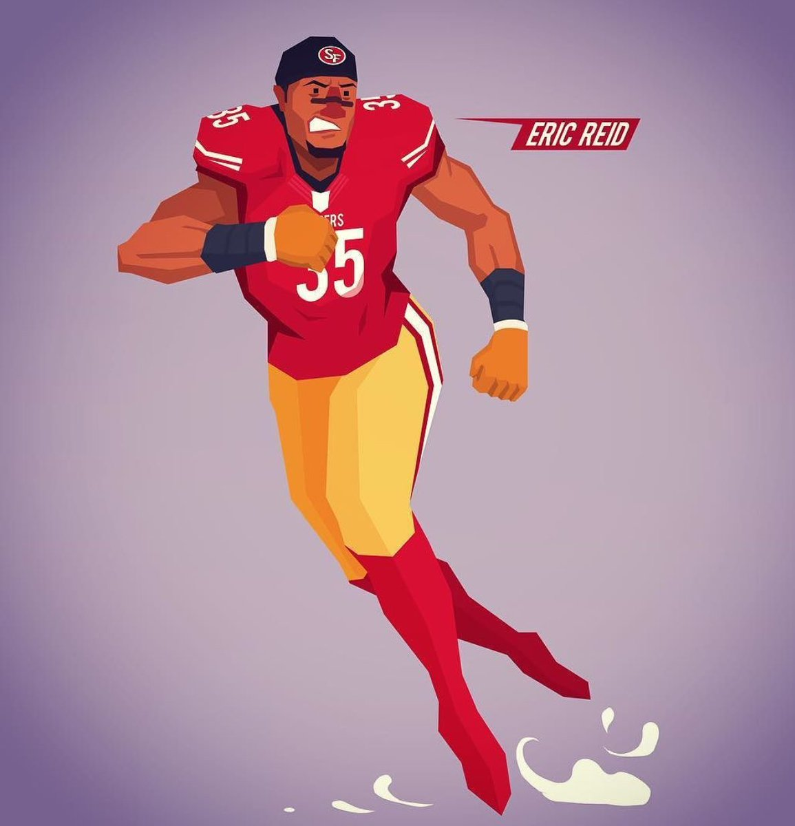 Eric Reid On Twitter Cartoon Me Is Making Me Miss Football Nice