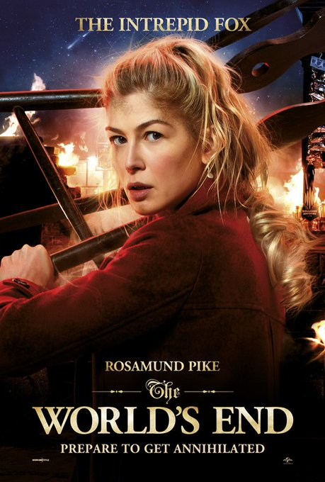 Happy Birthday to Rosamund Pike, who showed off all her strengths in