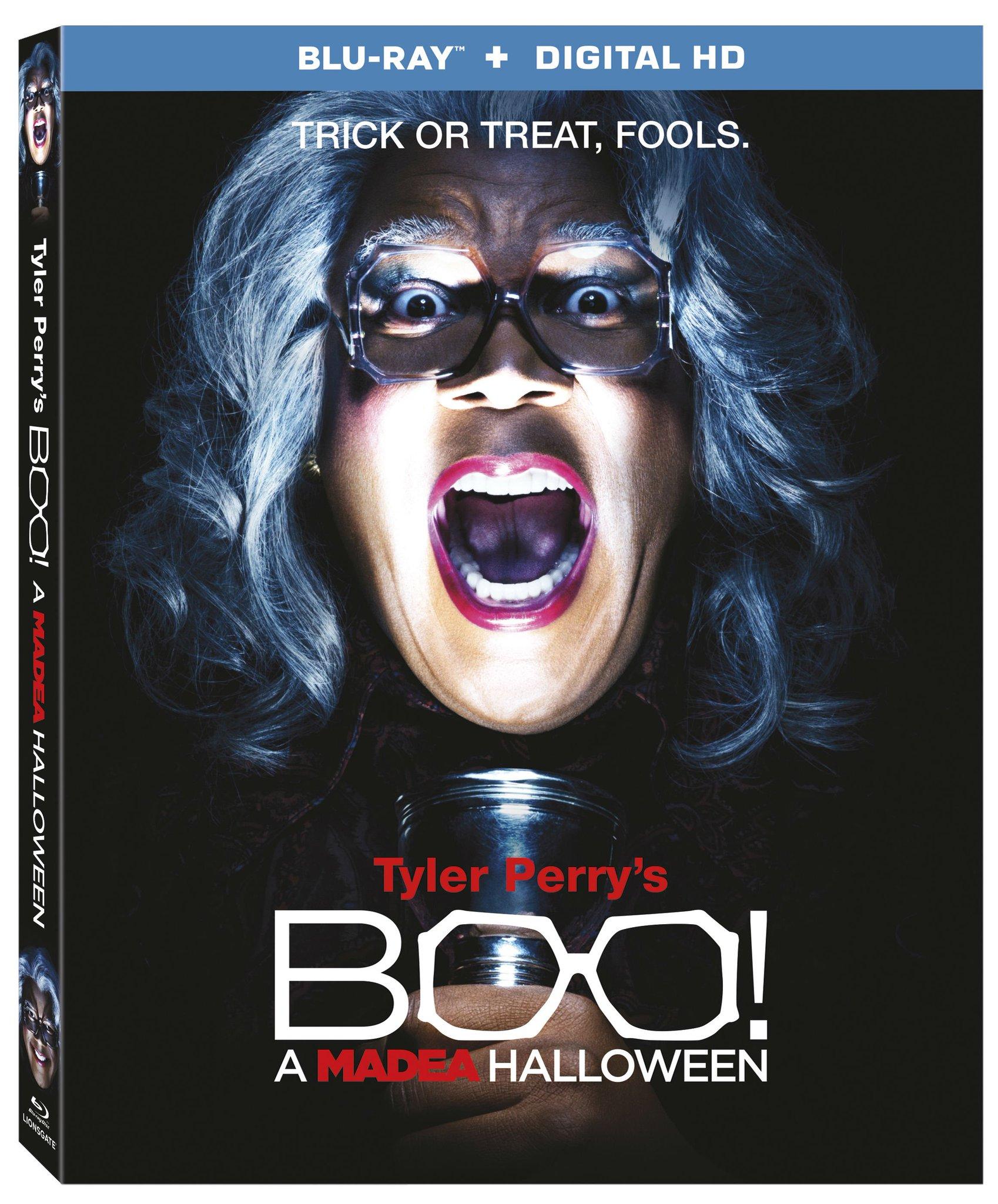 tyler perry's boo! a madea halloween: comedy horror movie box