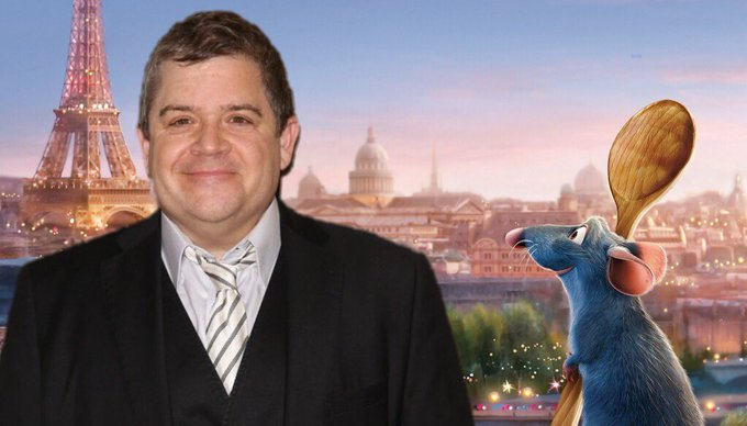 Happy birthday to the voice of Remy, the hilarious Patton Oswalt! to show him some birthday love!