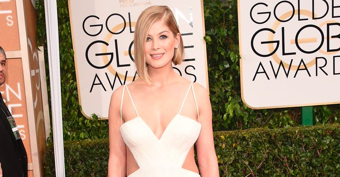 Happy birthday Rosamund Pike She\s conquering the red carpet one outfit at a time: