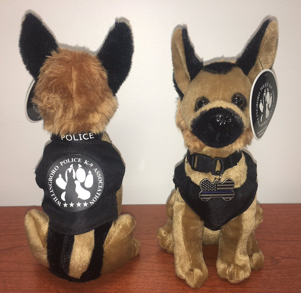 Willingboro K 9 On Twitter Plush Police Dogs On Sale Now 15 Each