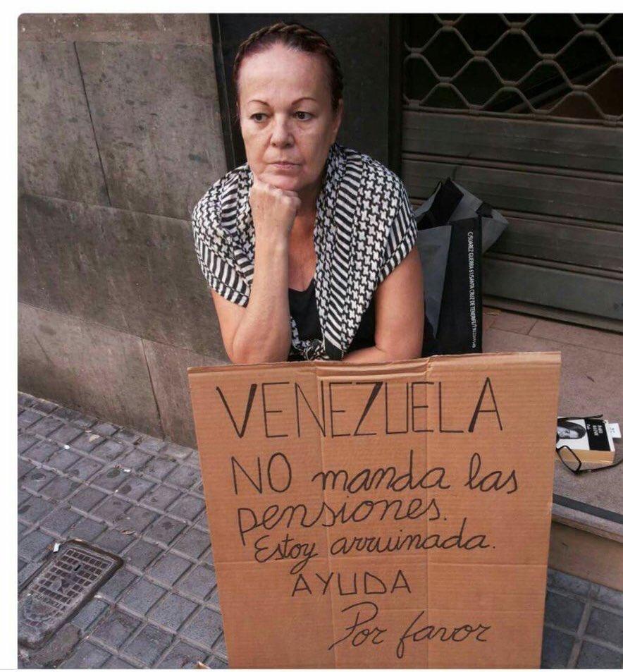 En Evidente Estado De Indigencia Pensionados Y Jubilados Venezolanos