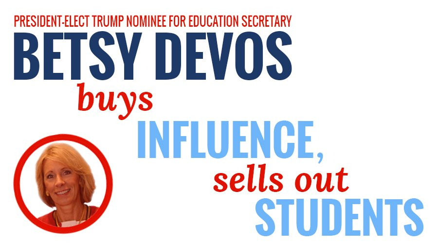 A renewed call for #DeVos to come clean on #DarkMoney ties. https://t.co/yIV1Qe9ePl