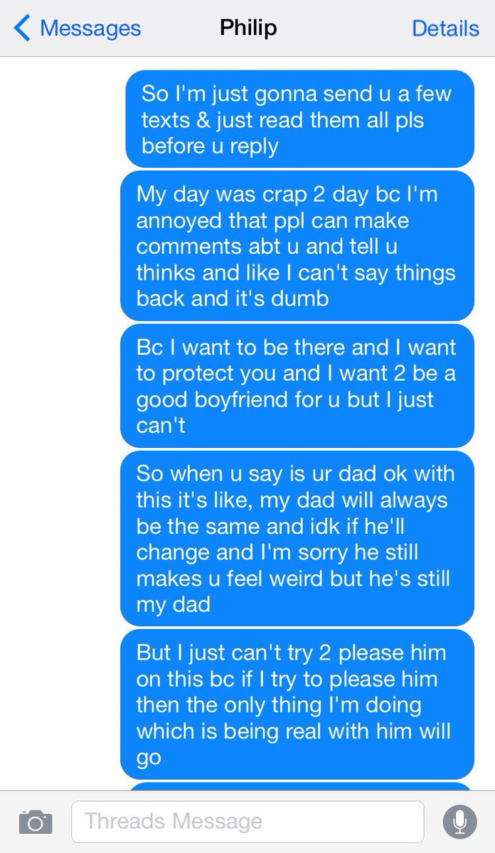 big messages for girlfriend