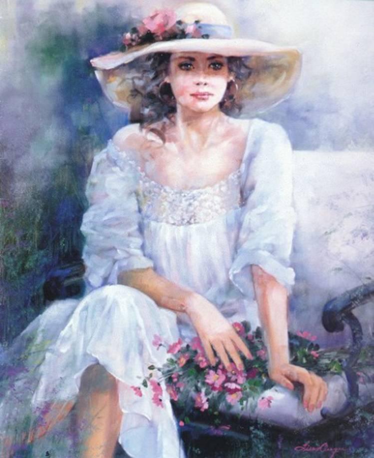 Картинки женские образы красивые романтичные без лица