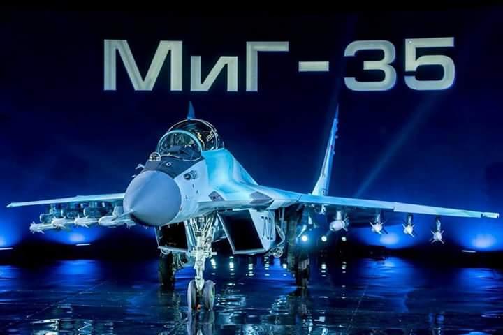 المقاتله الروسيه MiG-35  متعددة المهام  C3NQFEiWYAA7ulv