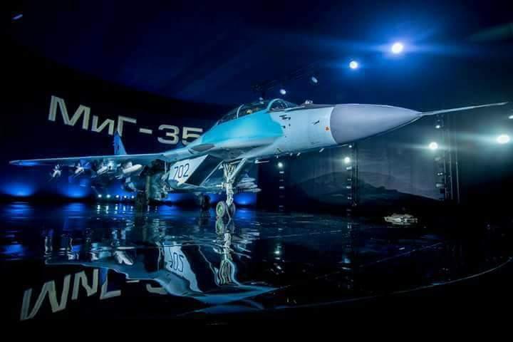 المقاتله الروسيه MiG-35  متعددة المهام  C3NQFV_XAAIZa-1