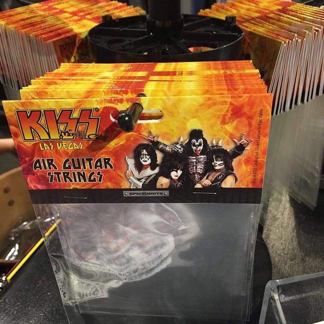 KISS Is Now Selling Air Guitar Strings