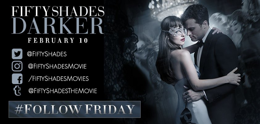 Follow @FiftyShades for the latest updates and content for #FiftyShade...