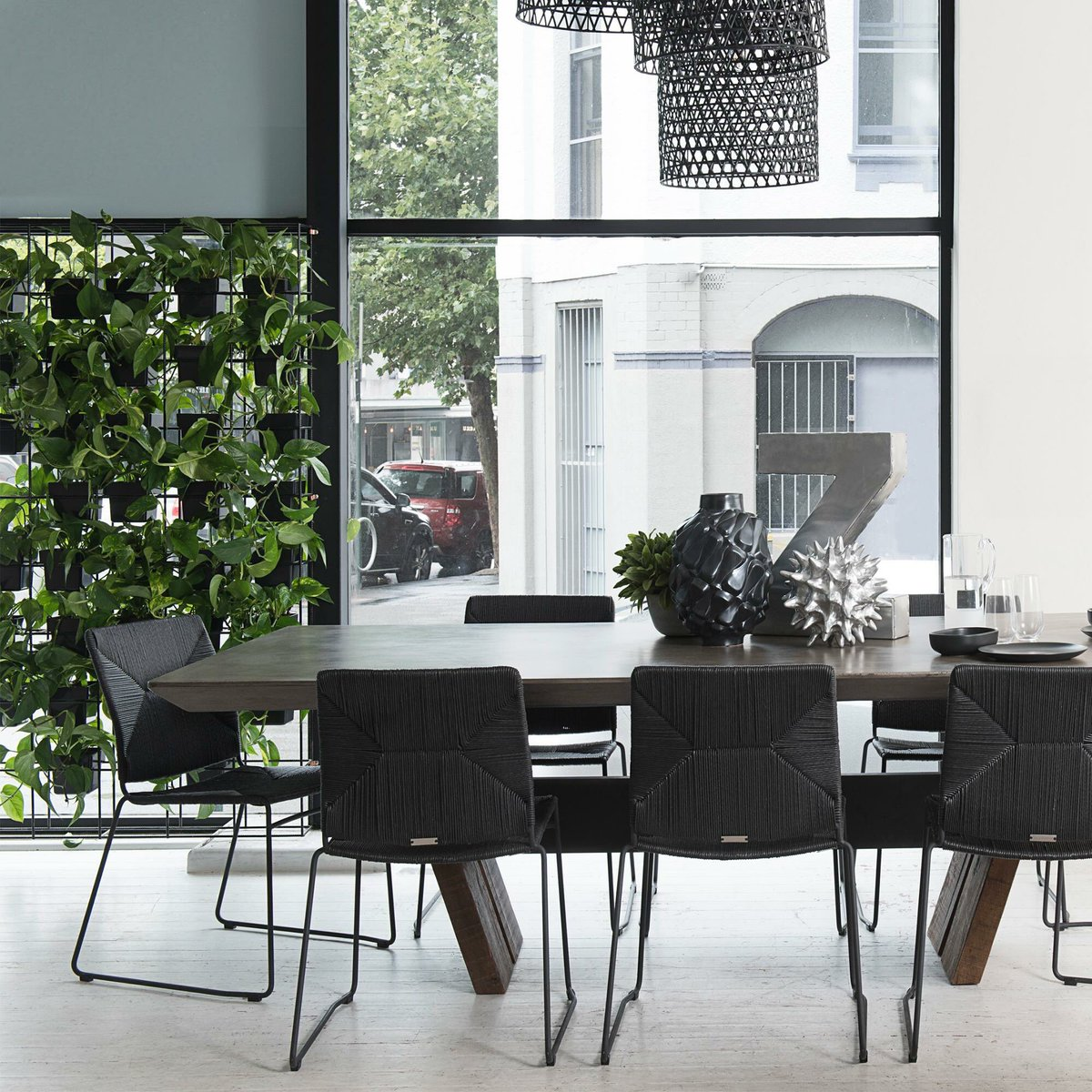 Coco Republic On Twitter Dining With Contemporary Edge With The Westside Dining Table And Julian Dining Chair At 88onregent By Thirdi Group