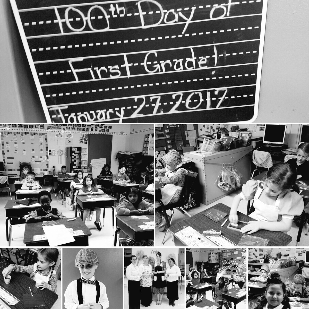 100th Day of School! #whereweareinplaceandtime #school100yrsago @HCPSRiverhills @ibpyp #hcpsteach