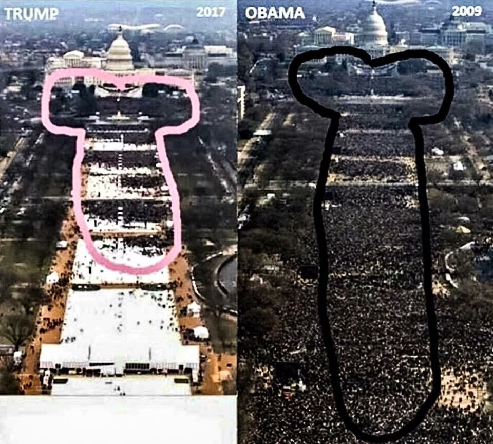 Trump vs. Obama.