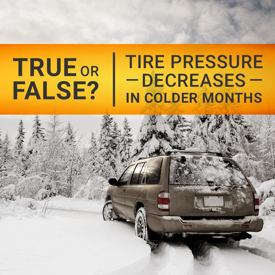 Tires Plus On Twitter Does Coldweather Cause Low Tire Pressure