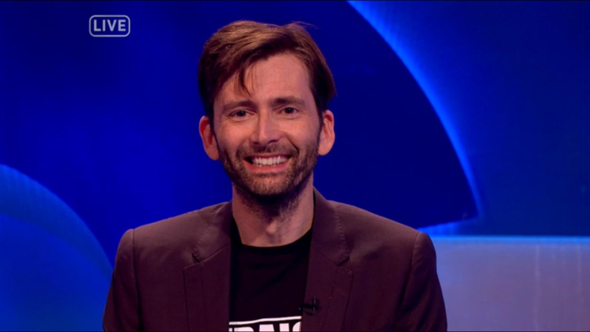 David Tennant on The Last Leg - 27/1/17