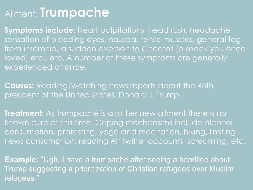 trumpache hashtag on Twitter