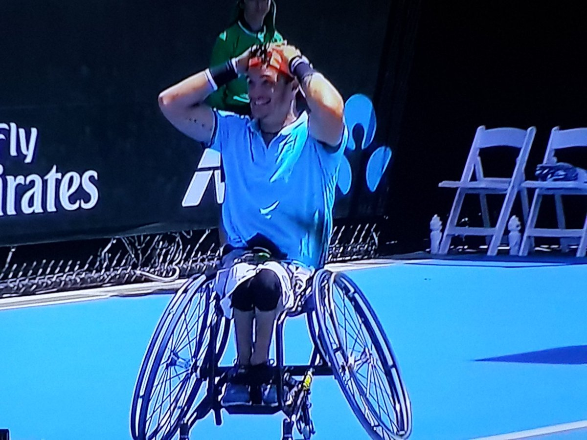 Grande @gustifernandez4 campeón del Abierto de Australia!!!! https://t.co/Q7C5HhZqfj