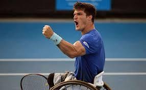 Gustavo Fernández campeón del #AustralianOpen en tenis adaptado! Felicitaciones!