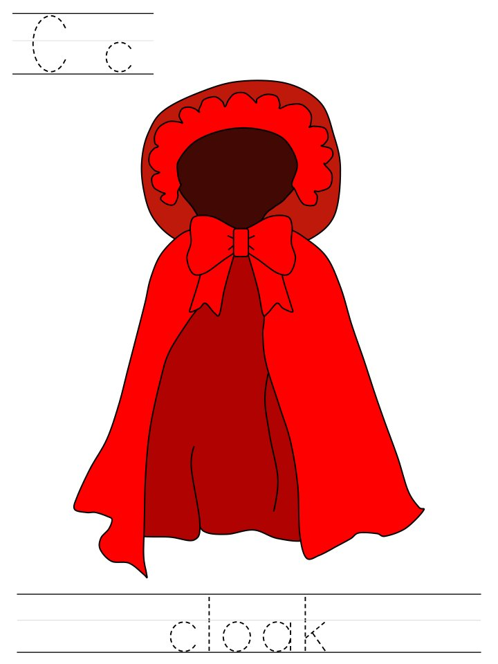 dltks crafts for ki on twitter little red ridinghood learn to print tracer pages httpstcoctc0wqsgcw httpstcoiqauapfx1v