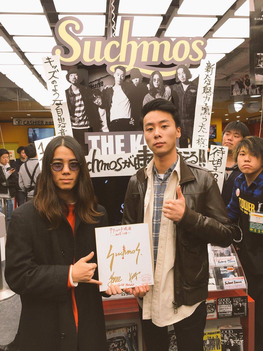 タワーレコード渋谷店さんにご挨拶  1階と3階、その他いろいろな所で 大きく展開して頂いてありがとう…