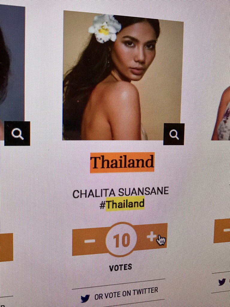 วาระแห่งชาติ โหวตตตตตต #MissUniverse #Thailand https://t.co/h94KsbuaPt