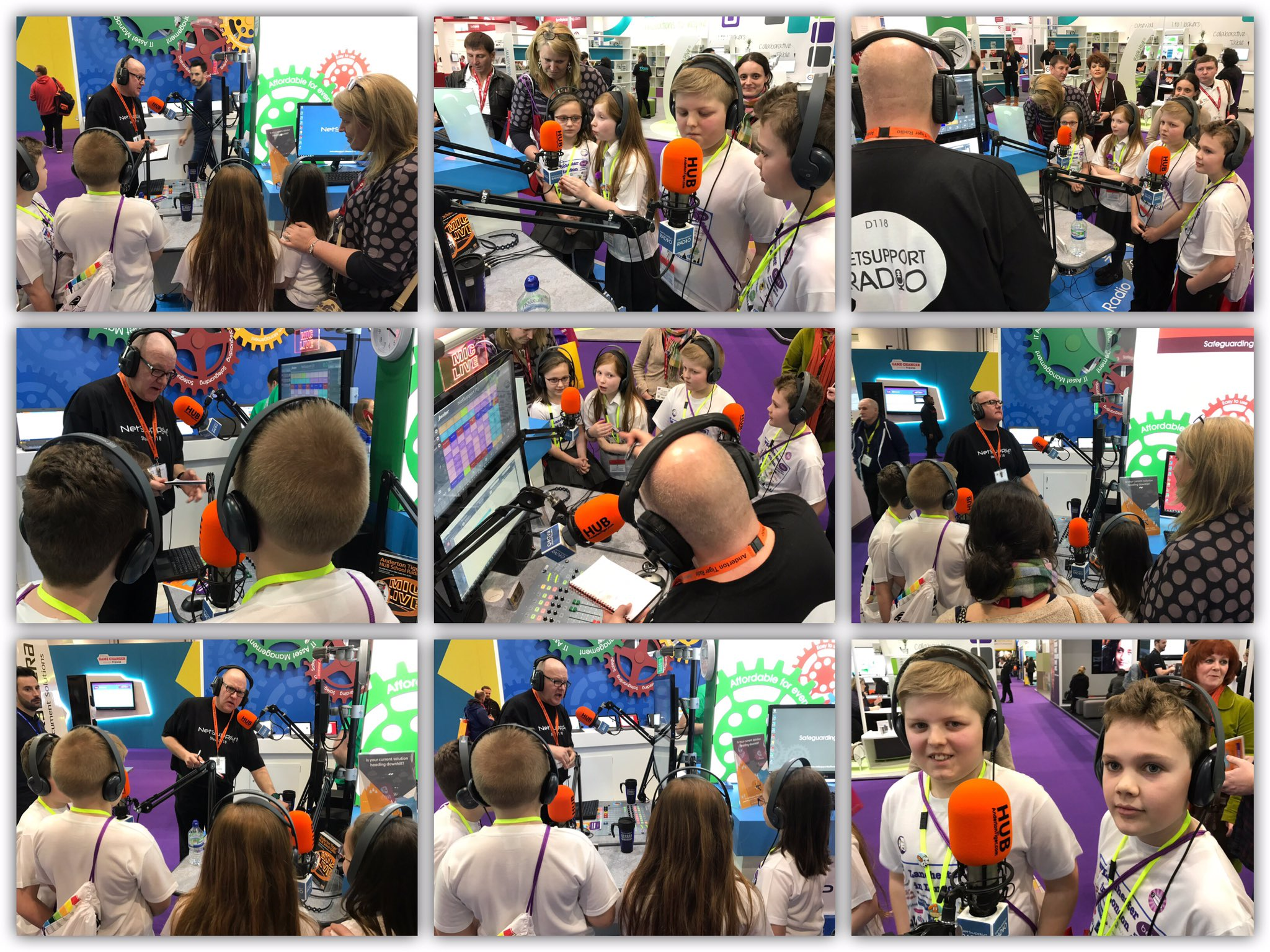My @LanchesterEP Digital Leaders loved being part of @russellprue radio show @Bett_show Download podcast: https://t.co/Lce8J6aDx7 #Bett2017 https://t.co/51NvRQBzaE