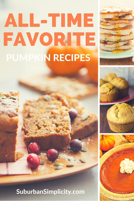 All-Time Favorite Pumpkin Recipes