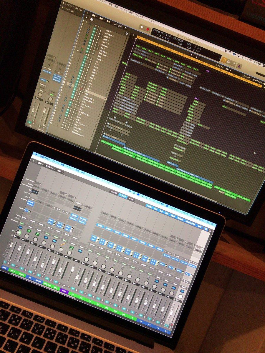 ここ数日間で、今作ってる曲のAメロを11パターンほど作った。自分でもこんなに出来るもんかあと驚きます…