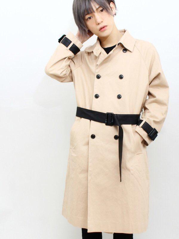超特急のユーキくん、いや ユーコちゃんがDINGの トレンチコートを着てくれている... お似合いで…