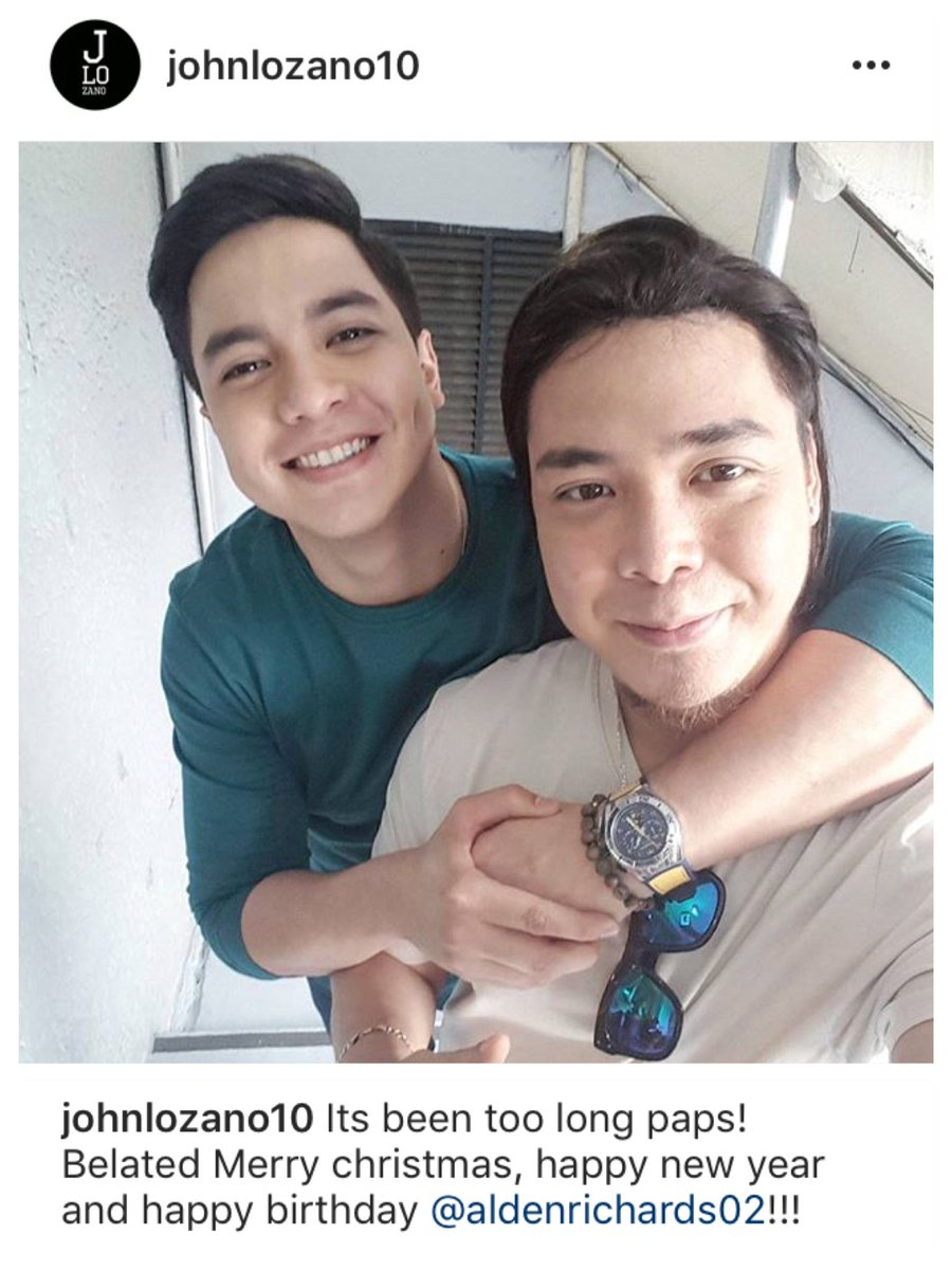 #AldenAt25 Hangover: Belated birthday greeting from his stylist @johnlozano10 <br>http://pic.twitter.com/dTw2YWw6C1