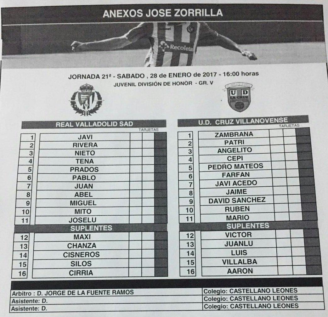 Real Valladolid Juvenil A - Temporada 2016/17 - División de Honor Grupo V - Página 13 C3Q4jp_XAAEdIOv