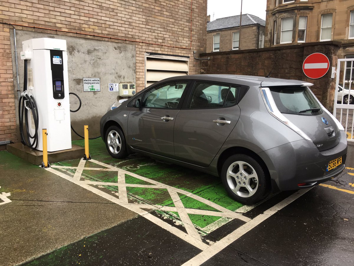 Ian Cameron On Twitter Charging Nissan Leaf In Edinburgh 3 To 82 Only 33 Mins Rapid Charge Amazing Efficiency