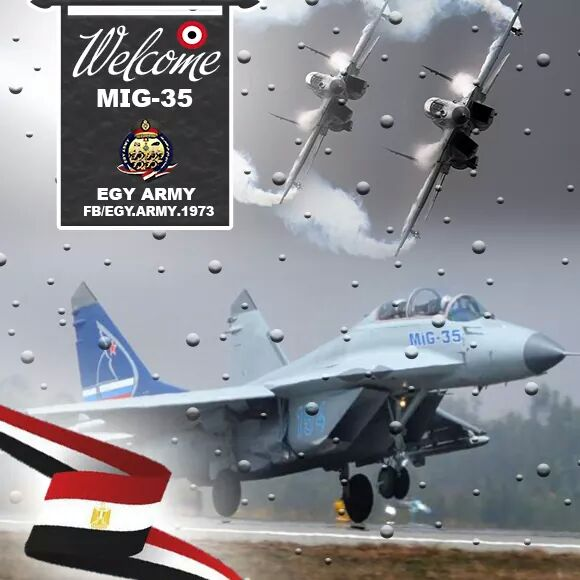 دليل اخر على طلب مصر لشراء 46 مقاتله Mig-35  C3QDZgFWYAEdus6
