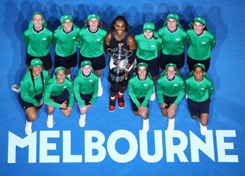 TENNIS: Serena Williams fa record assoluto agli Australian Open 2017