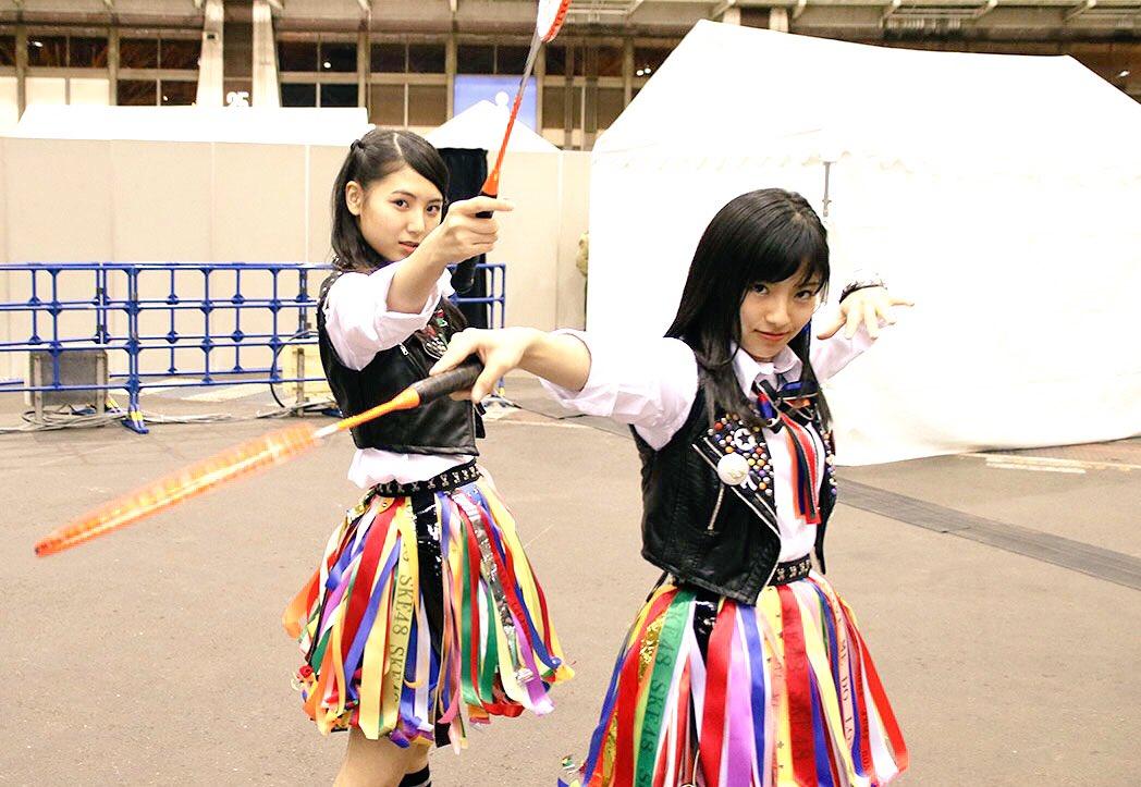 SKE48 2ndアルバム「#革命の丘」発売前通常盤イベント(ポートメッセなごや)開催中。 明日もあ…