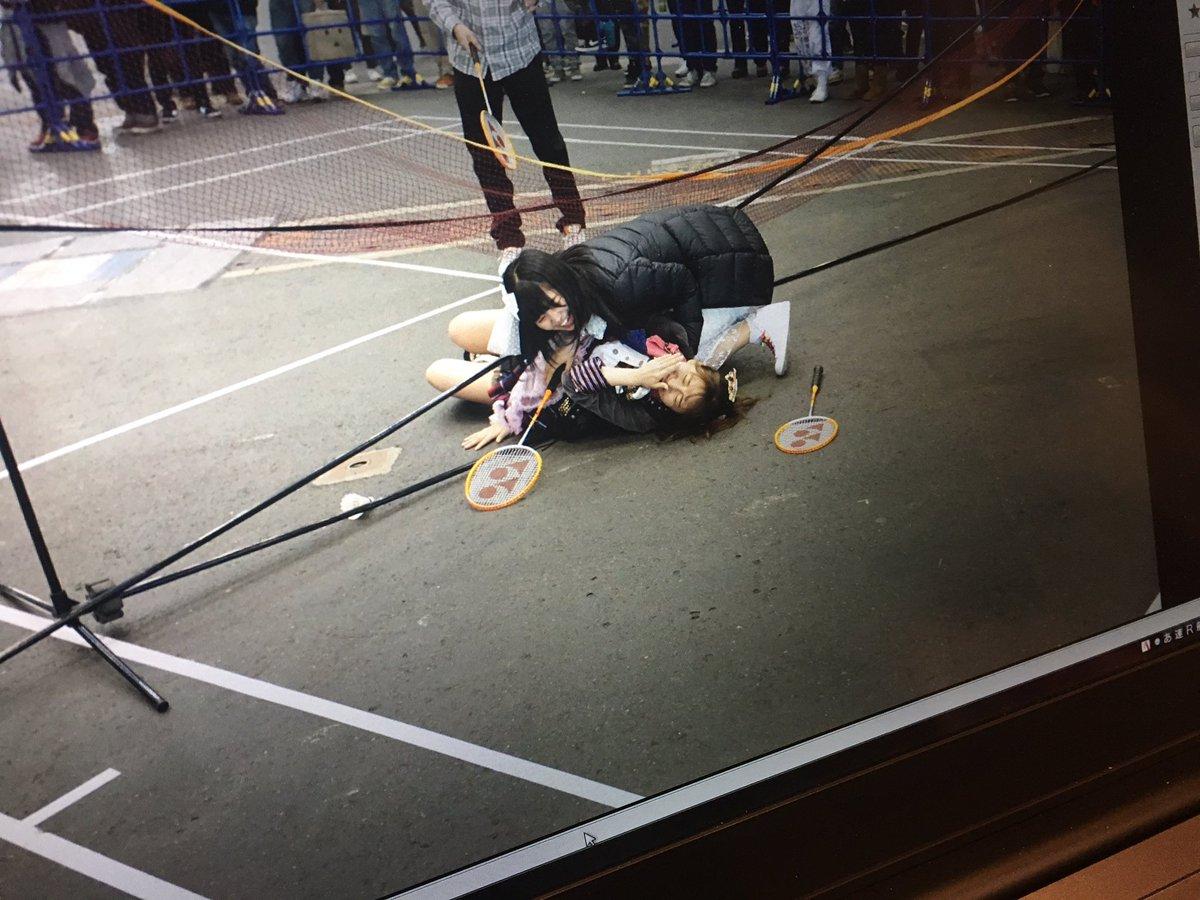 SKE48アルバムイベントin名古屋 ありがとうございました😊  どうも。バトミントンがド下手な人で…