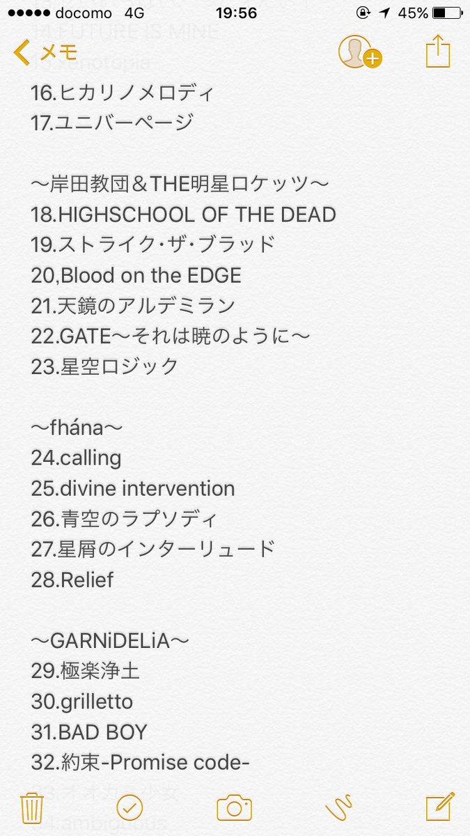 リスアニ!LIVE2017 @日本武道館 SATURDAY STAGE セトリ ユニバーページでの盛…