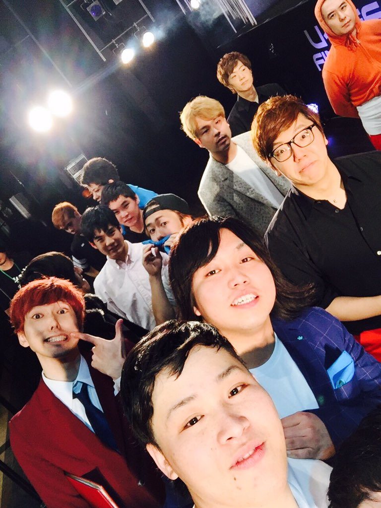 楽しかったーー!  明日は日本初のtwitter生配信のMCだそうですよ!僕ら!  頑張ります!