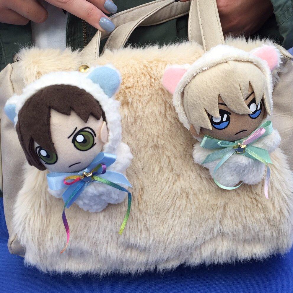 アニメイトイオン松江店、参加者のこだわりのあむあかぬい達(^-^)